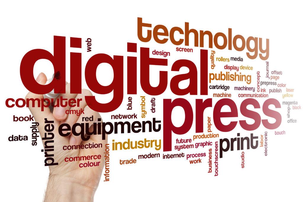Digitaldrucke auf diversen Untergrundmaterialien